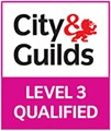 City Guilds Level 3 Qualified